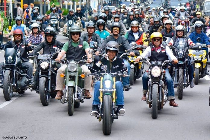 Bikers Brotherhood 1% MC Kawal Jokowi