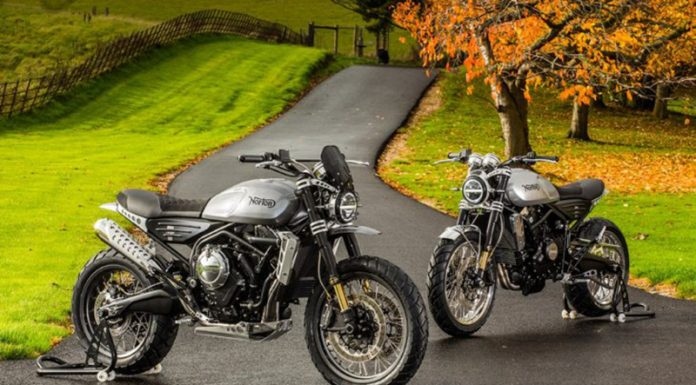 Scrambler Norton Atlas retro