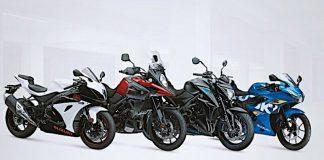Warna Baru Suzuki di Motorcycle Live 2018