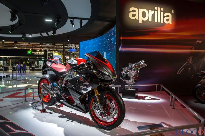 Aprilia RS660 Concept di EICMA 2018