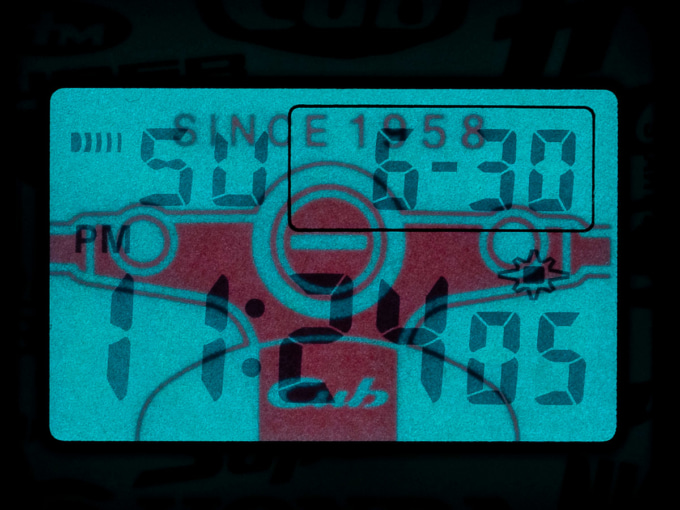 G-Shock Honda Super Cub