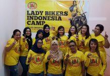 Lady Bikers Indonesia Dibentuk