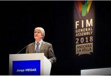 Jorge Viegas Presiden FIM