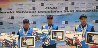 Suzuki National Technician Skill Competition 2018