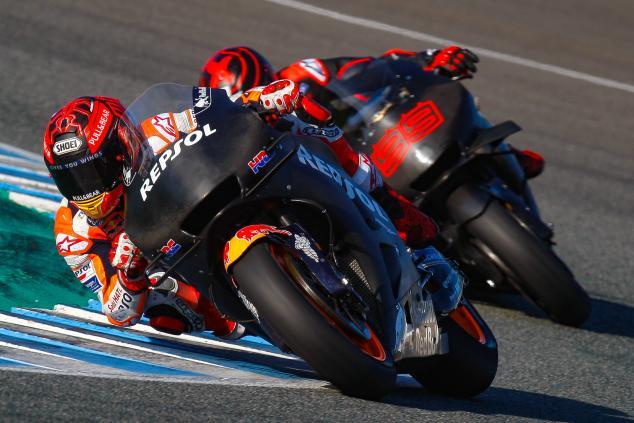 Honda MotoGP untuk Marquez dan Lorenzo Beda