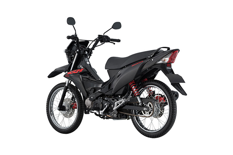 Honda XRM125 DSX Black Special Edition