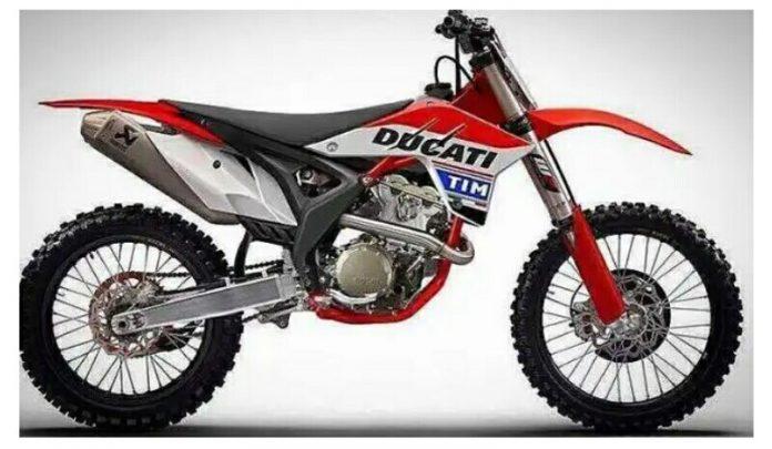Dirtbike Ducati Motocross 450cc