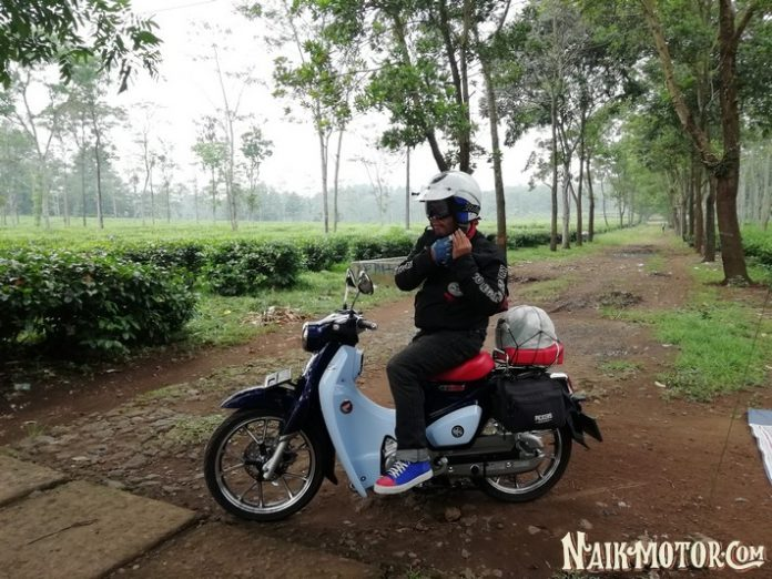 Test Ride Perdana Honda Super Cub C125