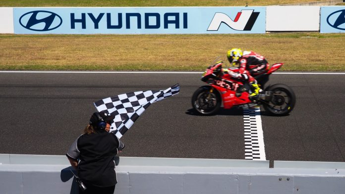 Sprint Race WorldSBK 2019 Phillip Island