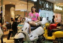 Piaggio Vespa Mall to Mall Exhibition Jakarta Barat