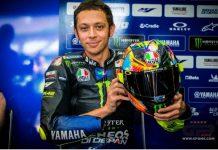 Helm Baru Rossi Bercorak Fluorescent di Tes MotoGP 2019 Sepang