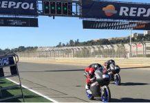 Tim Moto2 dan Moto3 di Valencia