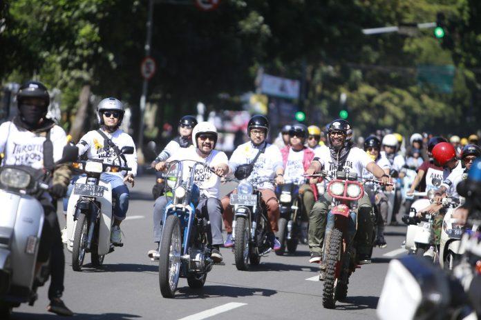 Throttle Heroes, Gerakan Peduli pada Anak-anak Pejuang Kanker di Bandung
