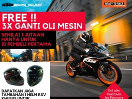 Beli Motor di KTM Galaxy Bekasi