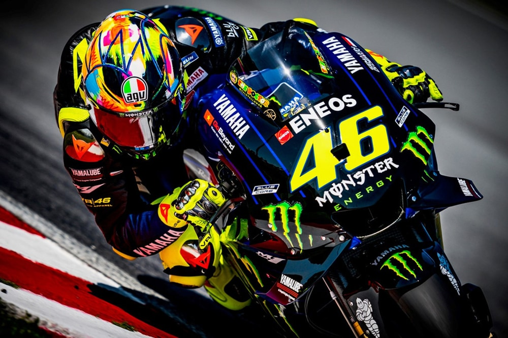 winter test 2019 helmet rossi akan dijual cuma unit. Black Bedroom Furniture Sets. Home Design Ideas