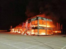Penyebab Terbakarnya E-Paddock Sirkuit Jerez