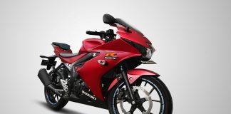 Suzuki GSX-R150 Matt Summer Red