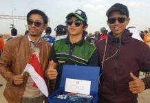 Crosser Indonesia Kibarkan Merah Putih di Kuwait