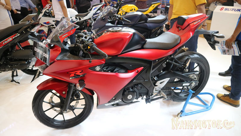 Suzuki GSX-R150 Matt Summer Red