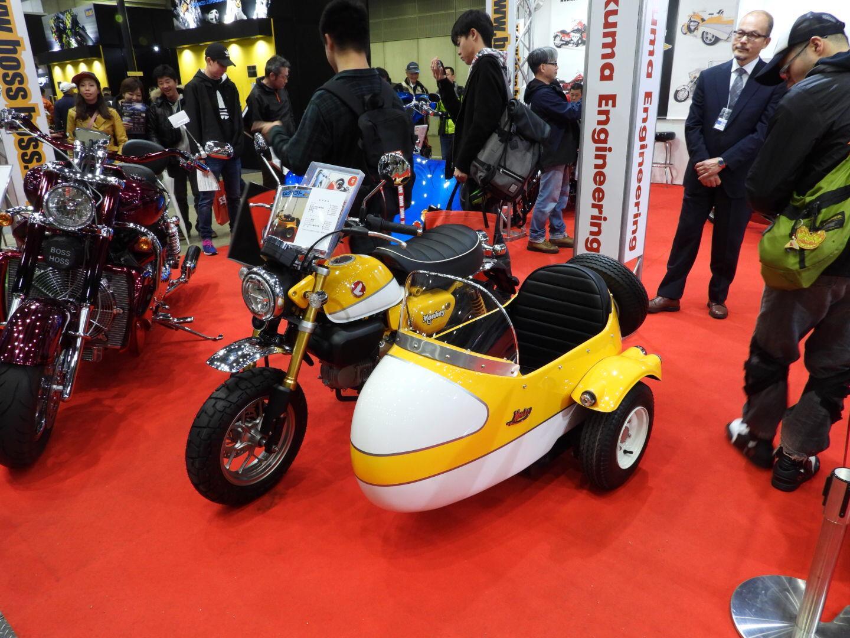 Ragam Modifikasi Honda Monkey di Tokyo Motorcycle Show 2019