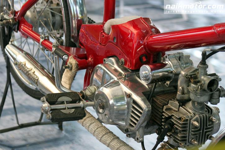 Modifikasi Motor Bebek Jadi Sepeda Ontel World Bikes