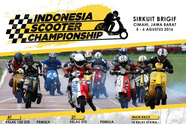 Indonesia Scooter Championship 2016