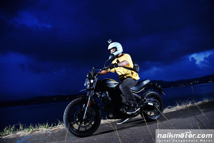 Test Ride Scrambler Ducati 400