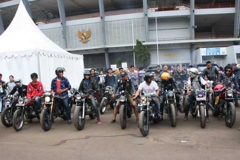 Gathering Cafe Racer Indonesia