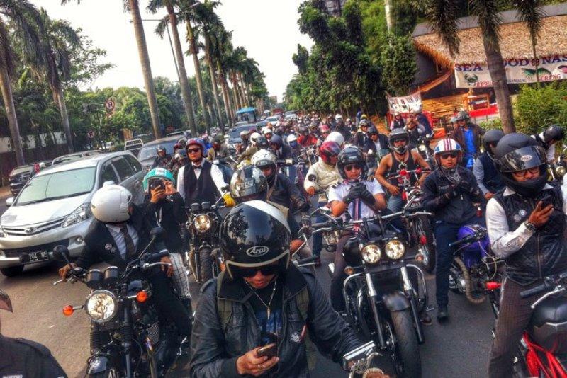 Peserta Distinguished Gentleman Ride Jakarta Perhatikan Hal Berikut Ini