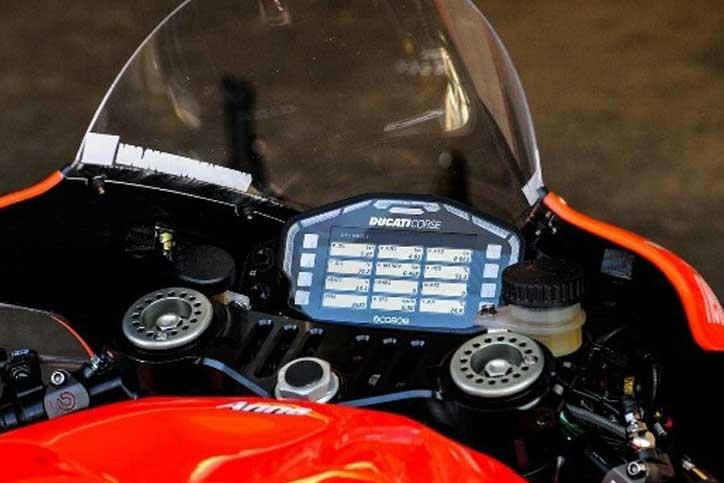sistem pesan di dashboard motor
