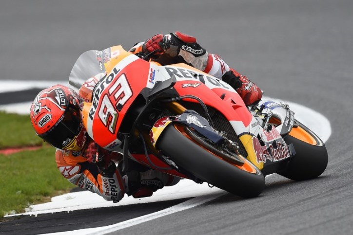 FP3 MotoGP Silverstone: Marquez Tercepat, Vinales Menempel Ketat