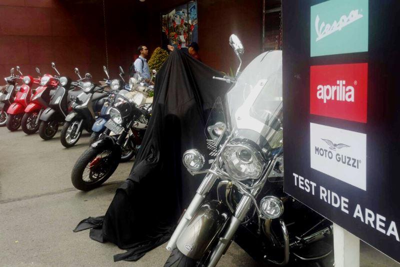 Mau Coba Vespa GTS 300, Datangi Test Ride Piaggio di Pondok Indah