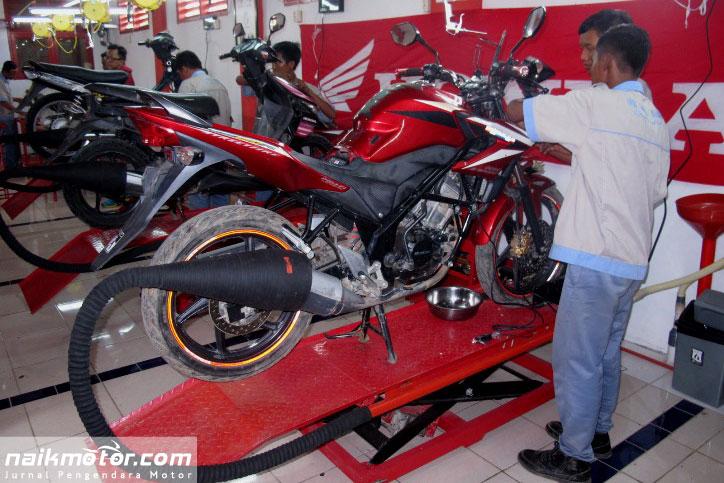 sekolah teknik sepeda motor honda