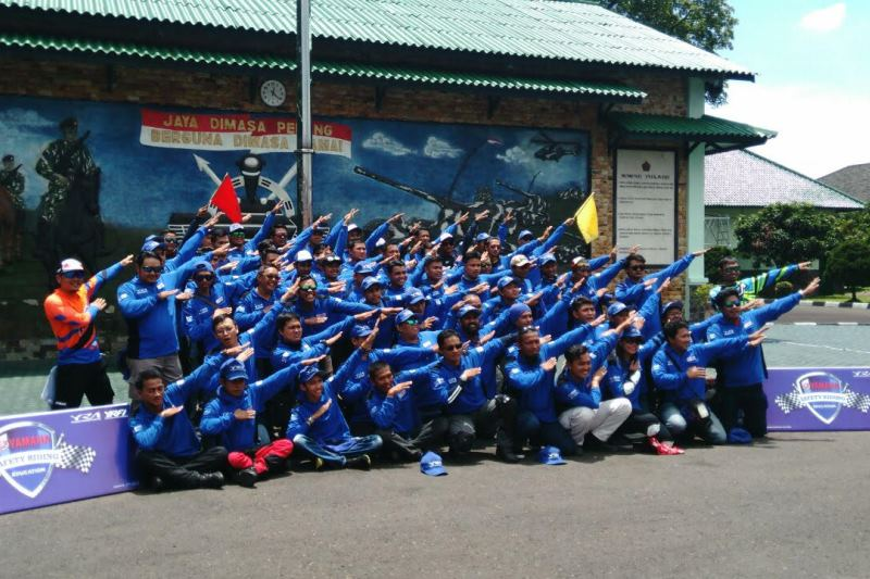 Puluhan Instruktur Safety Riding Berkumpul di Jambore Nasional YRA