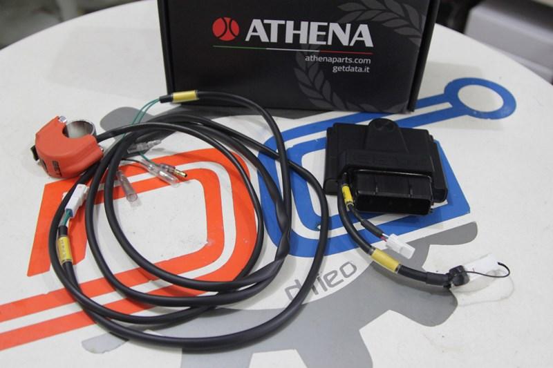 Cara Praktis Ubah Sistem Pembakaran R-25 dengan Piggy Back Athena