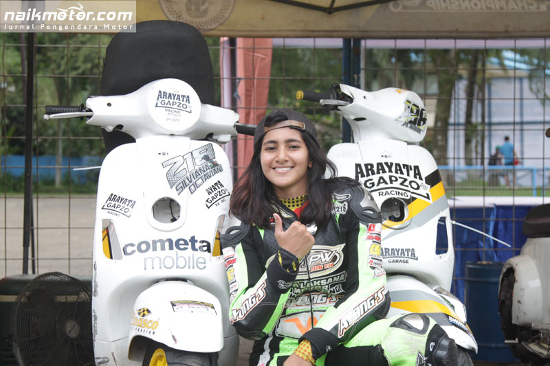 Gebrakan Para Pembalap Wanita Ramaikan ISC Seri II