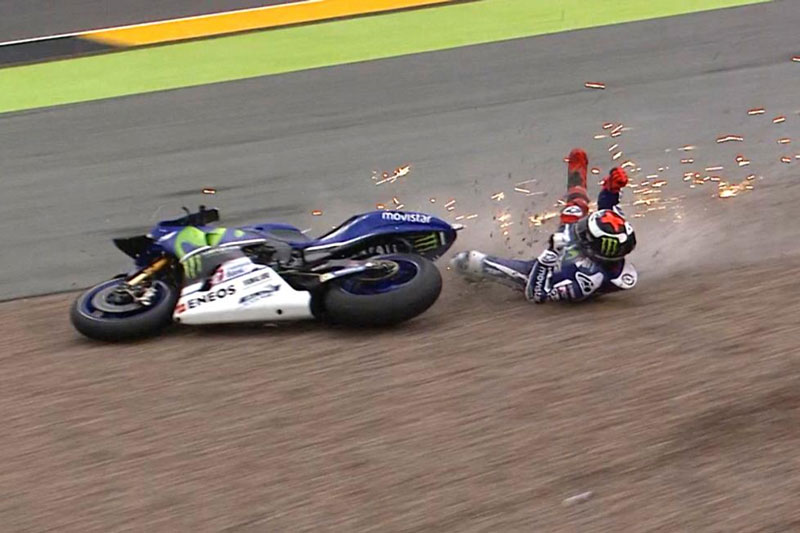 Kecelakaan di MotoGP