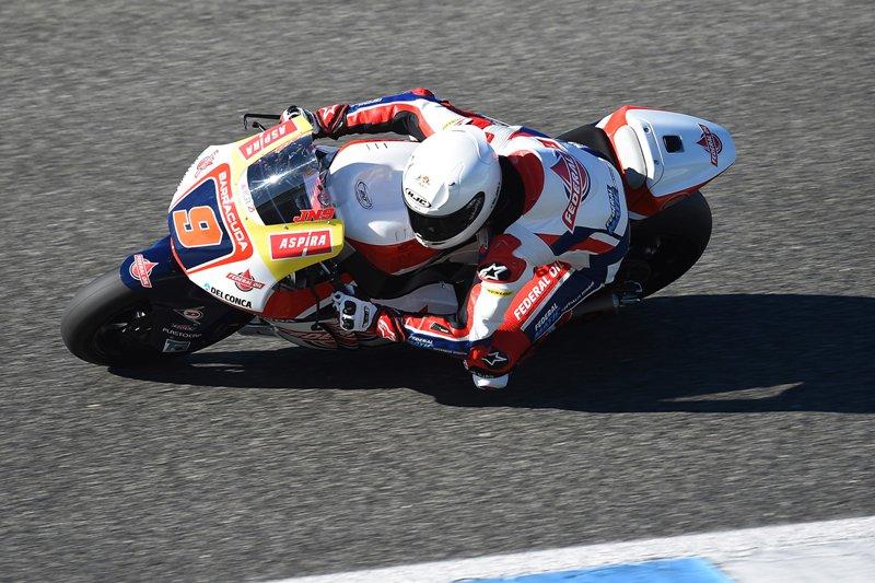 Tes Federal Oil Gresini Moto2 di Valencia