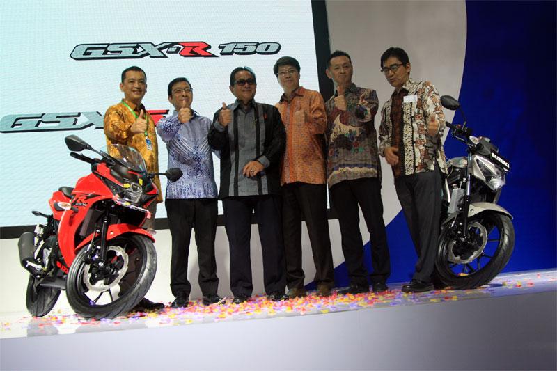 Suzuki GSX-R150 dan GSX-S150