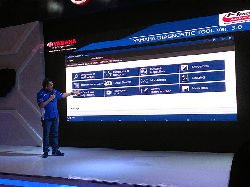 Yamaha Diagnostic Tool