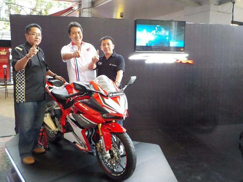 Baru Diluncurkan di Tangerang, Honda CBR250RR Langsung Terpesan 10 Unit