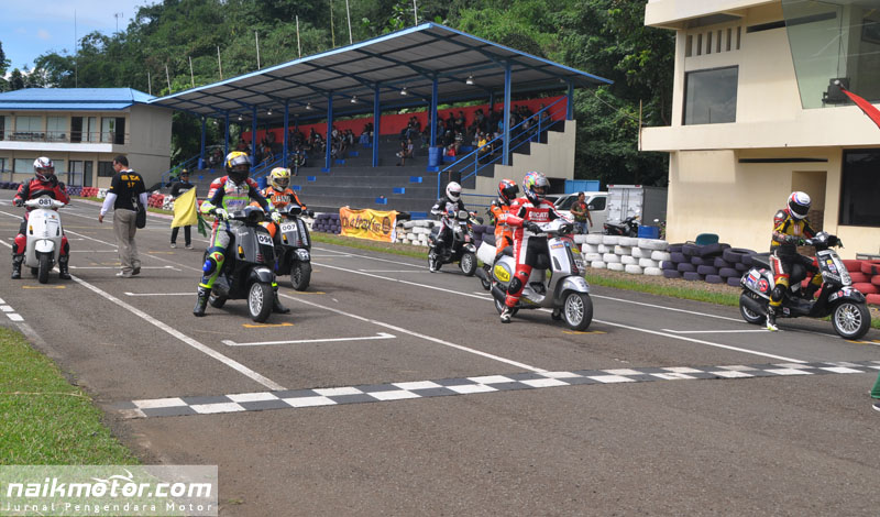 Seri I Indonesia Scooter Championship 2017