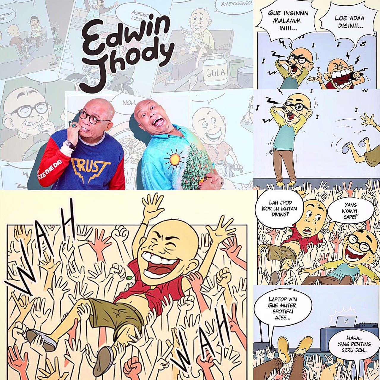 Edwin Jhody Comics
