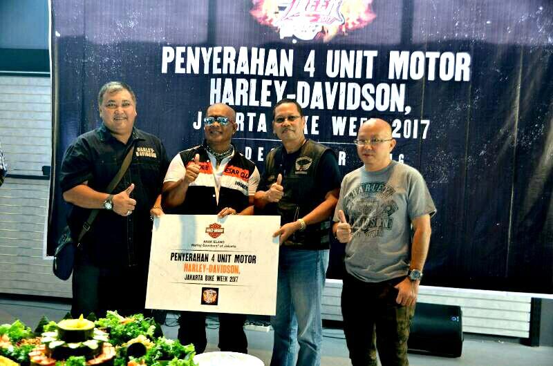 4 Unit Harley-Davidson dari Anak Elang untuk Jakarta Bike ...
