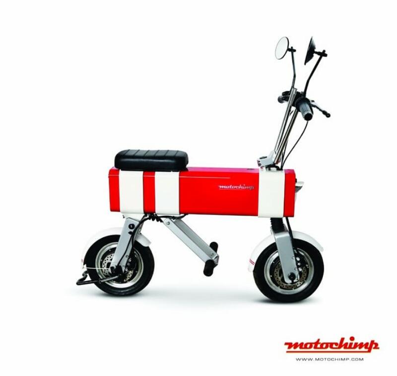Motochimp sepeda motor listrik mini seperti mainan