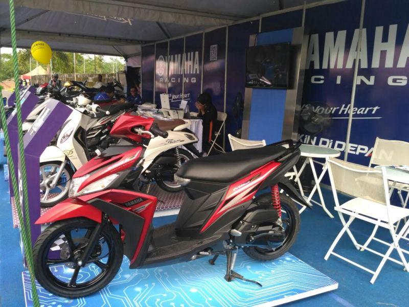 Yamaha Mio Z dan NMax Jadi Primadona di Tasikmalaya