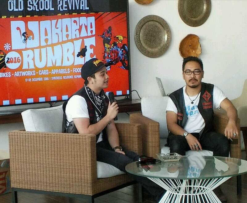 Djakarta Rumble 2016 Beri Kiat Custom dengan Budget Terbatas