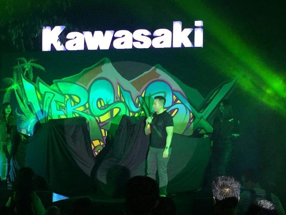 Peluncuran Kawasaky Versys-X 250 di Bali