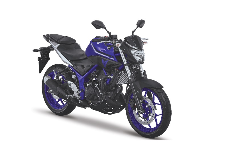 Wajah Baru Yamaha MT-25