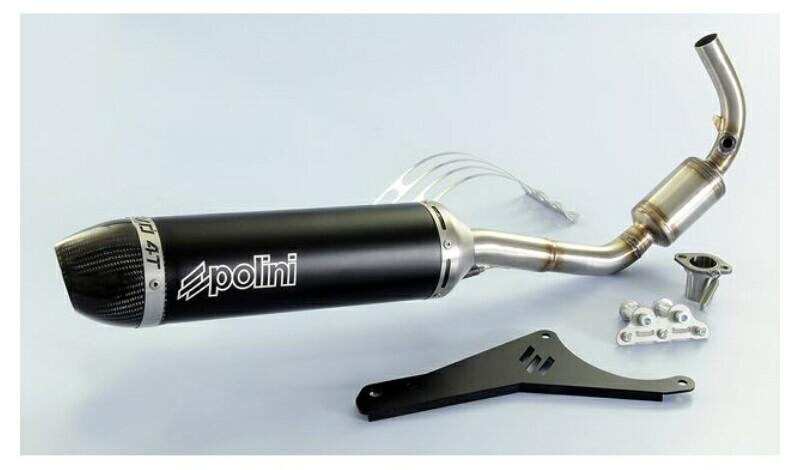 Knalpot Polini Evolution untuk Vespa Primavera dan Sprint Balap